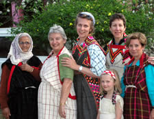 2003 Tour Group Members in Traditional Kullu Valley Dress